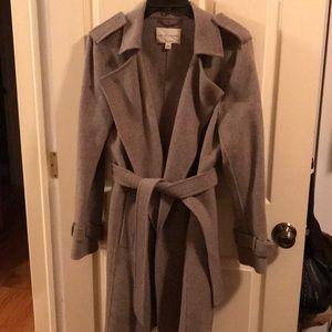 Banana Republic Wool/Angora coat- EUC